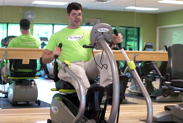 T5xrw Recumbent Cross Trainer Nustep Inc