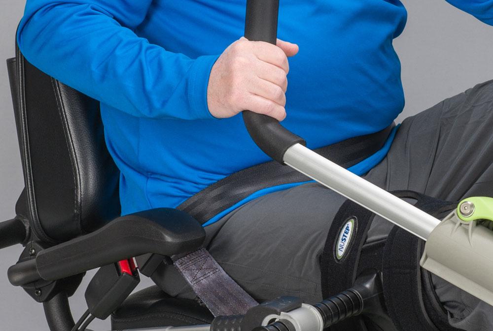 NuStep T4r seatbelt