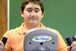 Aim High School and NuStep - Exercise and Autism