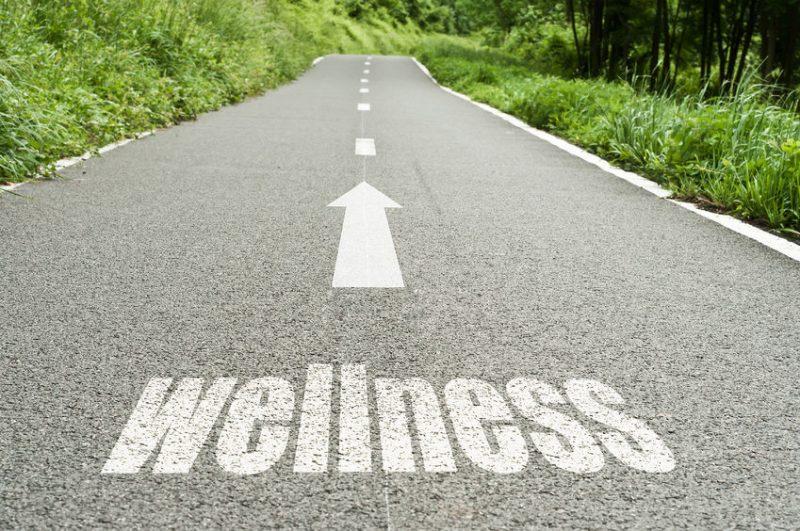 Recumbent bike for wellness