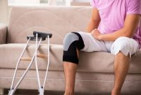 Cross trainer for rehab at home