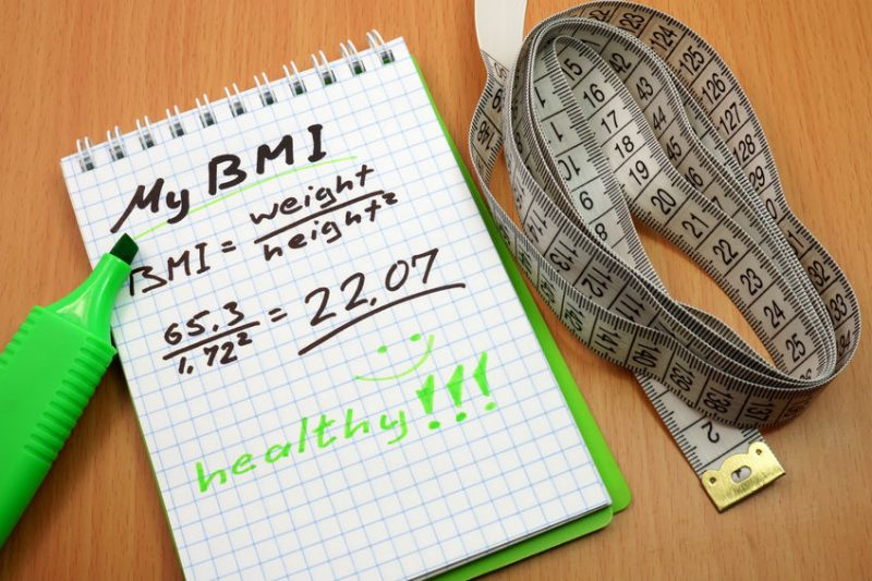 Healthy BMI from Weight Loss